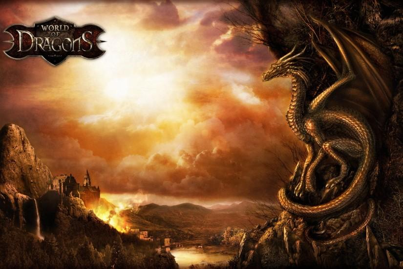 Video Game - World Of Dragons Wallpaper