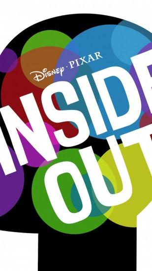Preview wallpaper inside out, 2015, pixar, disney world 1080x1920