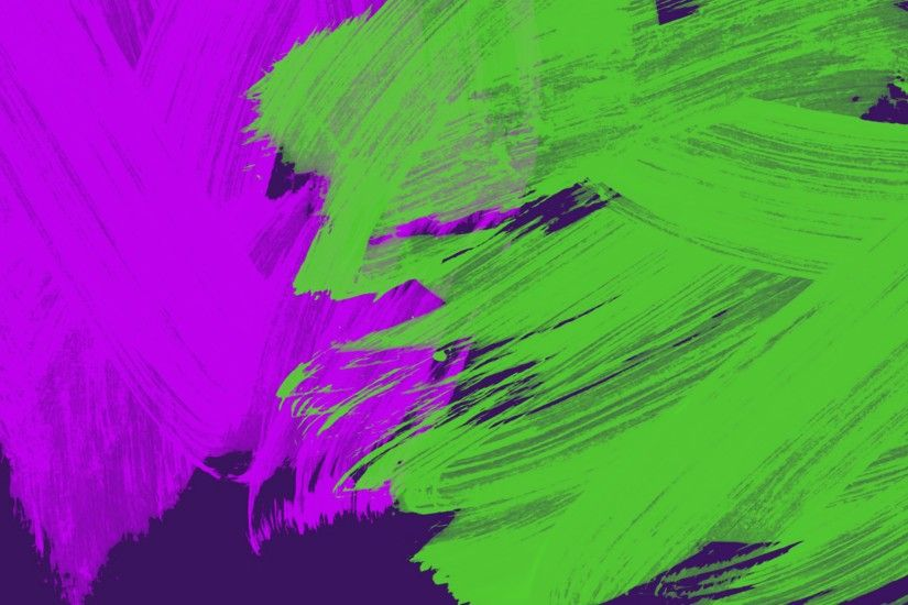 background with neon purple and green touches