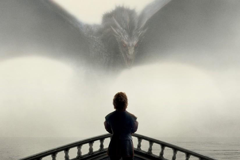 Game of Thrones Tyrion and Drogon