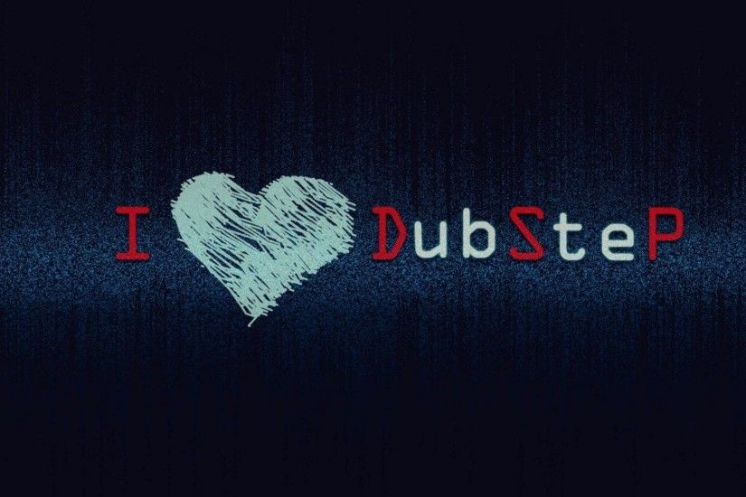 Preview wallpaper inscription, love, music, dubstep 2048x1152