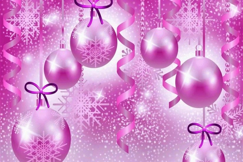 holiday christmas holiday christmas ornaments pink purple sparkles bow  wallpaper - Purple Christmas Ornaments Backgrounds