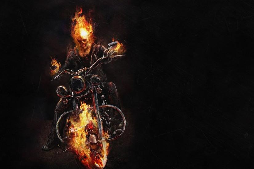 Ghost Rider HD Aesthetic Wallpaper Free - Download Ghost Rider HD Aesthetic  Wallpaper