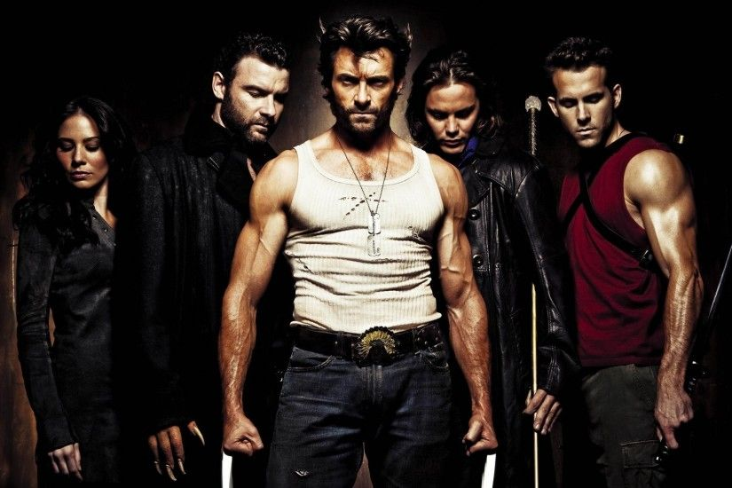 movies, X Men Origins: Wolverine, Wolverine, Sabretooth, Gambit, Wade  Wilson, Deadpool, Kayla Silverfox, Hugh Jackman, Ryan Reynolds Wallpapers  HD / Desktop ...