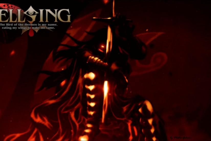 download free hellsing wallpaper 1920x1080 for hd 1080p