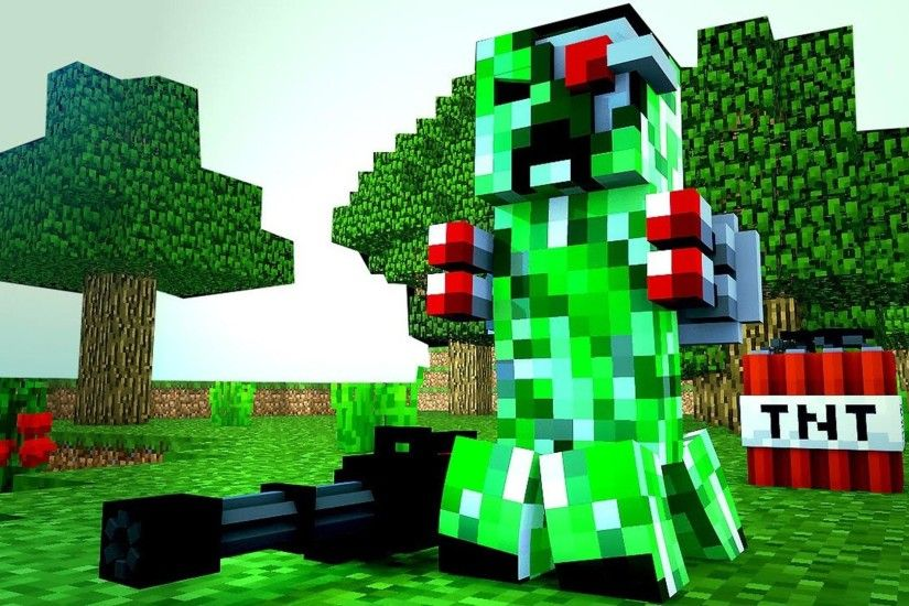 minecraft creeper wallpaper #528161