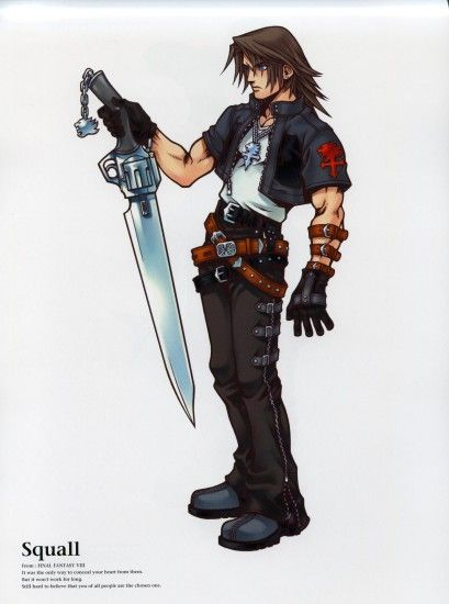 Squall Leonhart · download Squall Leonhart image