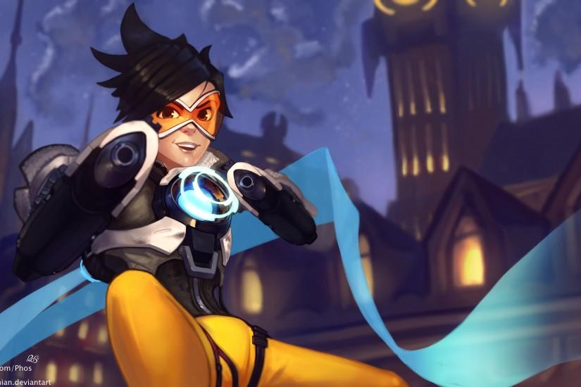 overwatch tracer wallpaper 3820x2160 for android 50