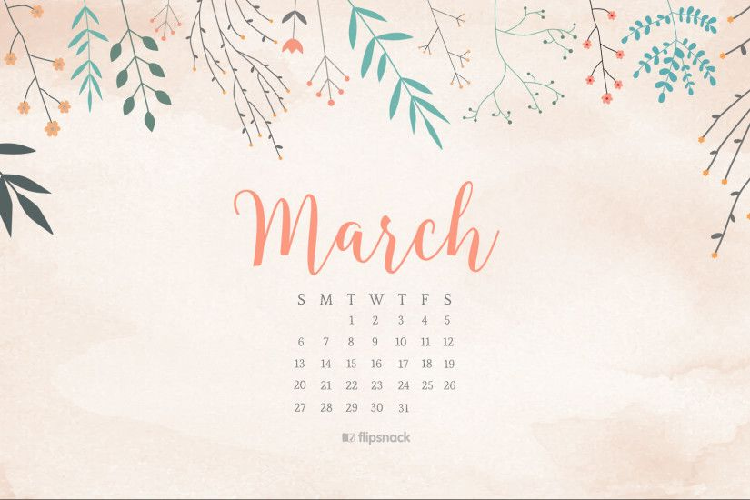 1920x1080 Desktop Wallpaper Calendar 2017 free march calendar wallpapers oh  so lovely blog 1920×1080