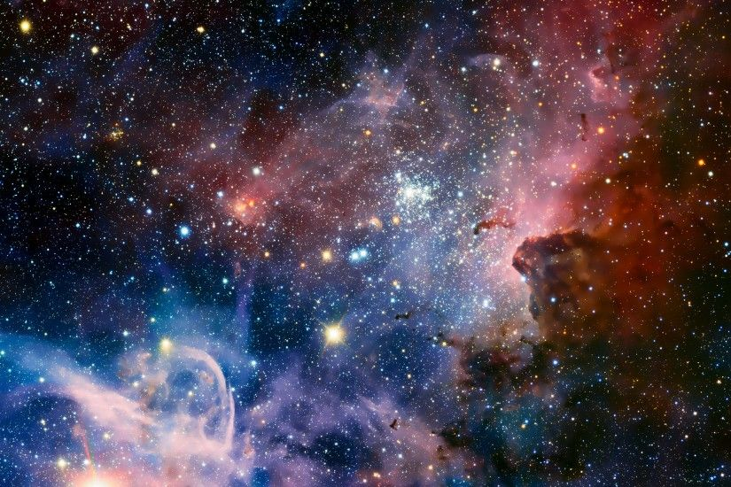 General 3840x2160 space stars Carina Nebula nebula digital art space art