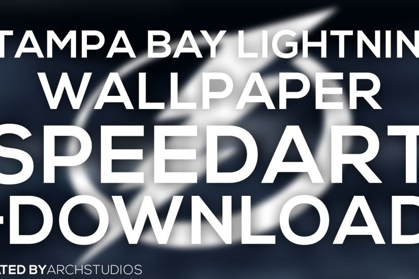 SPEEDART: Tampa Bay Lightning Wallpaper