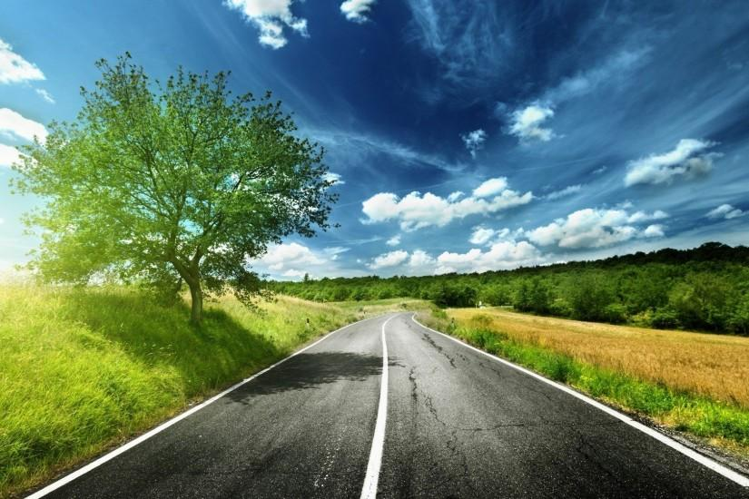 widescreen road background 1920x1080