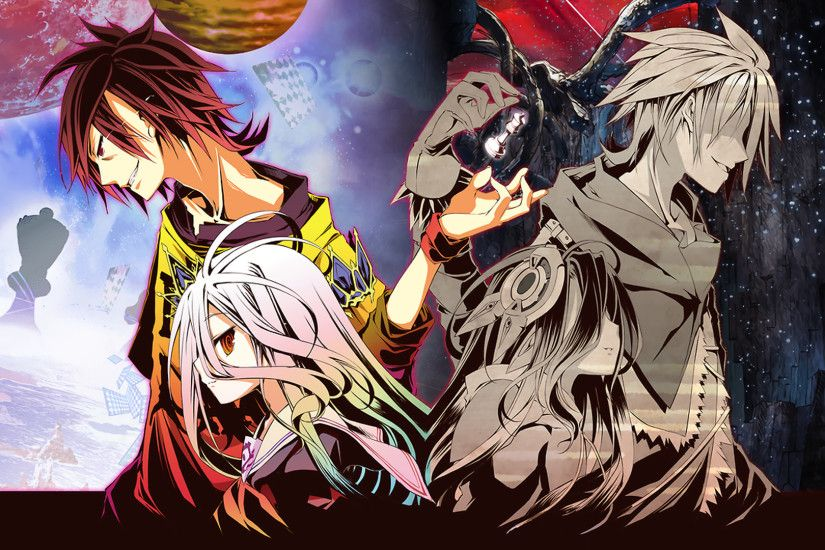 Anime - No Game No Life Shiro (No Game No Life) Sora (No