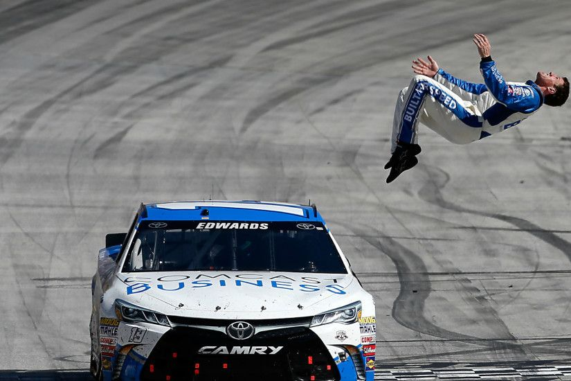 Carl Edwards has nothing on this stuntman's blind backflip | NASCAR |  Sporting News