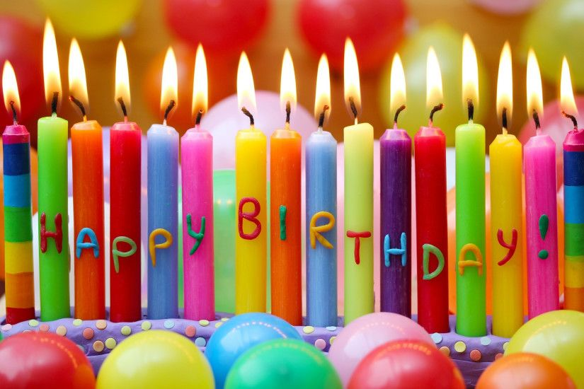 Happy Birthday Candles Wallpaper Background 49189