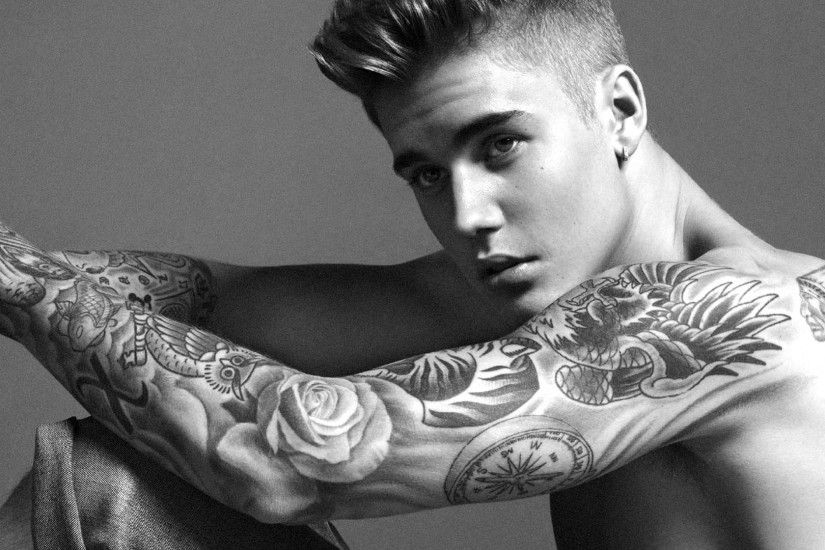 Justin Bieber New Face of Calvin Klein 1920x1080 wallpaper