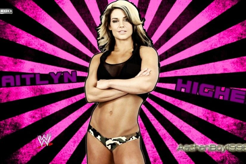 "WWE Kaitlyn 6th Theme Song ""Higher"" Arena Eidt + Download Linká´´á´°"