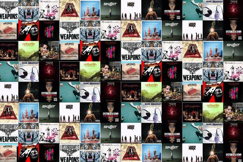 Foo Fighters Wasting Light Lostprophets Weapons 30 Seconds Wallpaper A Tiled Desktop