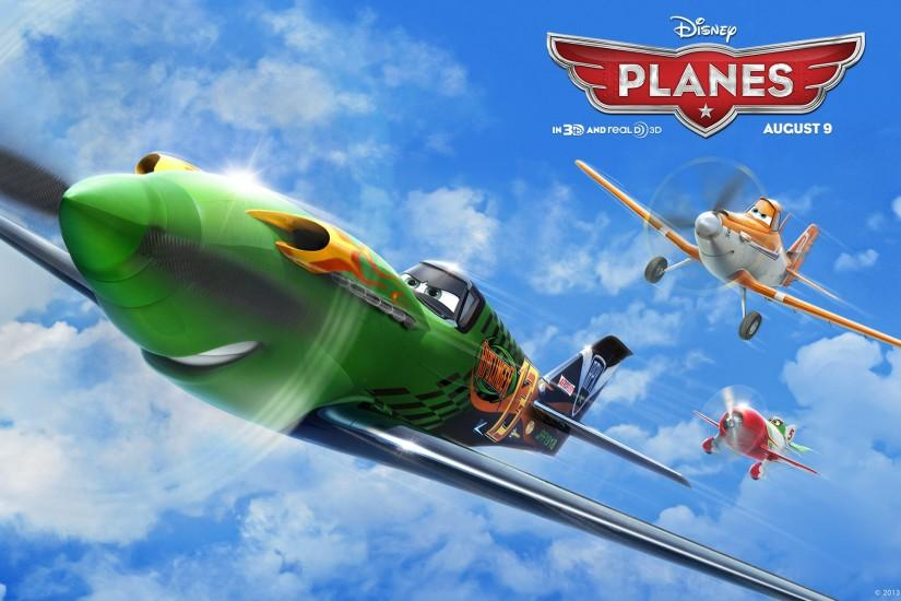 A cropdusting plane with a fear of heights lives his dream of competing in  a famous around-the-world aerial race. Disney's Planes wallpaper gallery. '