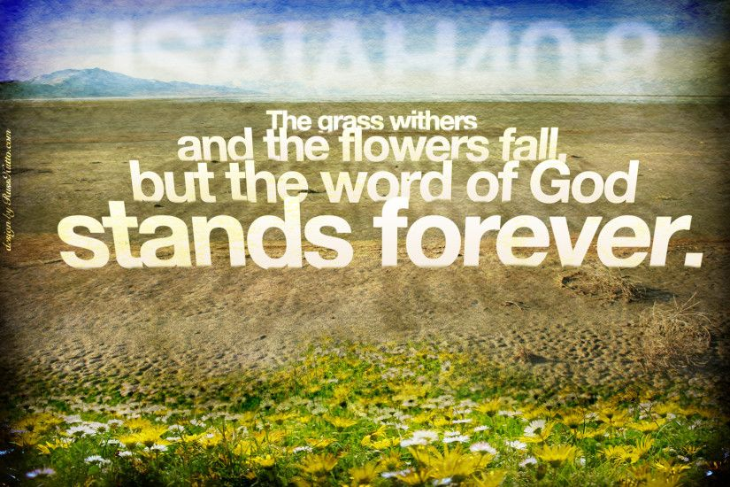 Isaiah 40:8 – Word of God