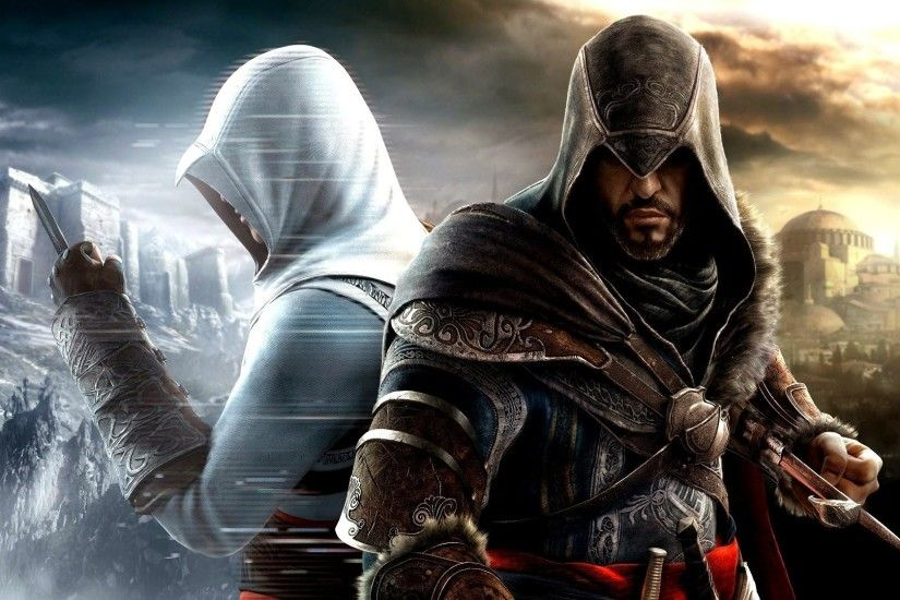 YouWall - Assassins Creed - Ezio and Altair Wallpaper - wallpaper