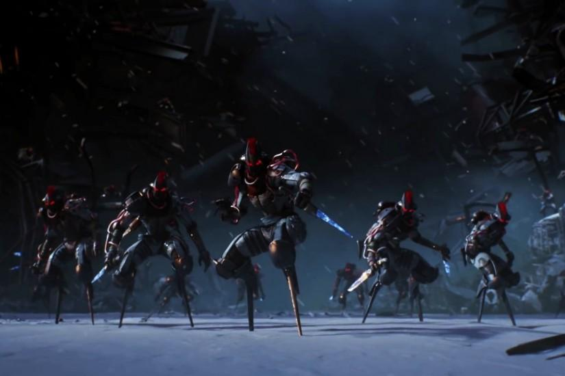 Destiny Rise of Iron Robot Army Wallpaper 00677