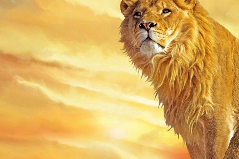 25+ Lion Wallpapers, Backgrounds, Images, Pictures | Design Trends