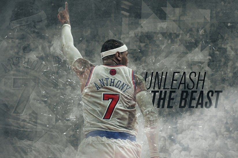 Sports Nba Carmelo Anthony New York Basketball 7 Knicks 2416x1375 px  Wallpapers HD / Desktop and Mobile Backgrounds