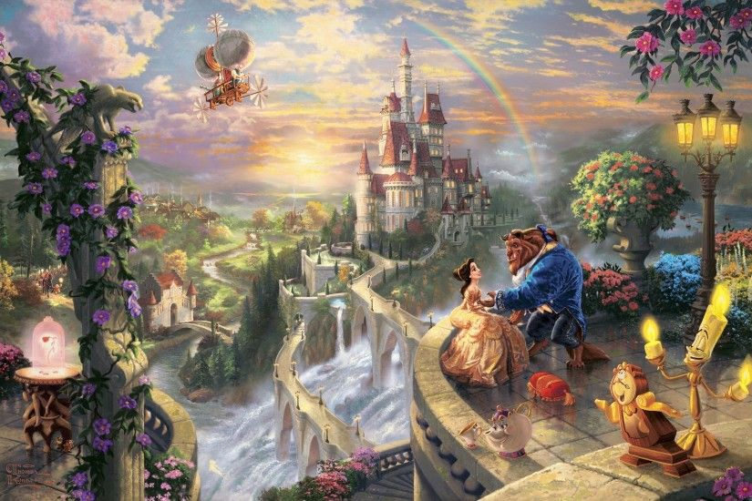 Thomas Kinkade Disney Wallpapers Cartoon