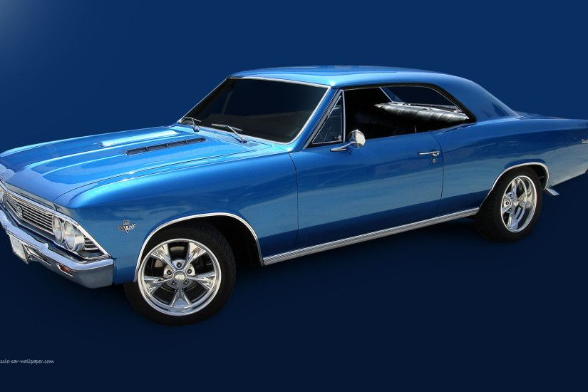 Chevelle SS Wallpaper - 1966 Blue Sport Coupe | 1920_06