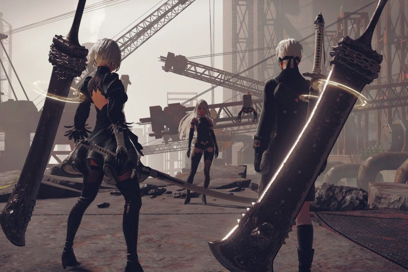 New NieR: Automata screenshots introduce '9S' and 'A2' ...