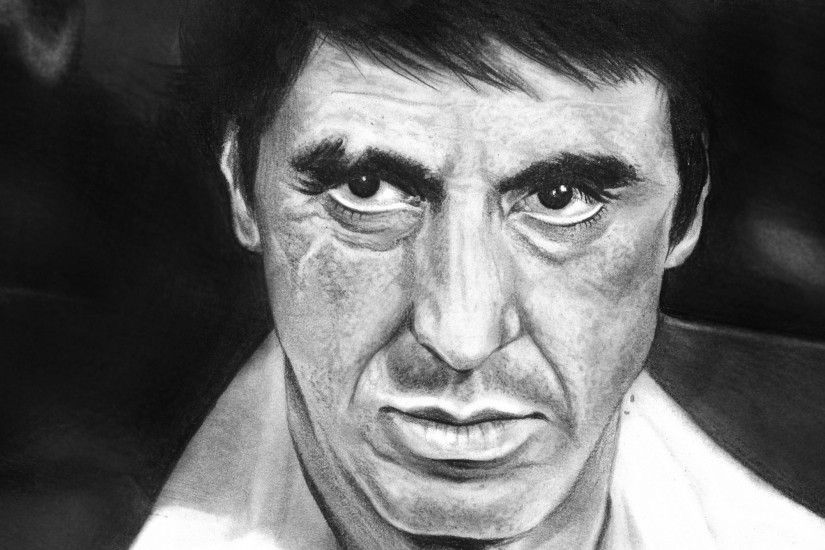 Al Pacino Fan Art Movies People Scarface Actors Wallpapers HD / Desktop and  Mobile Backgrounds