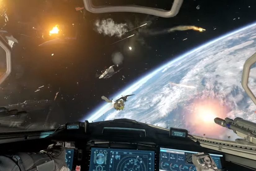 Call of Duty: Infinite Warfare Reveal Trailer has Epic Space Battles (!!!)