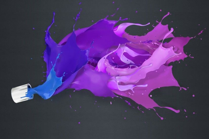 abstract art purple colors wallpaper