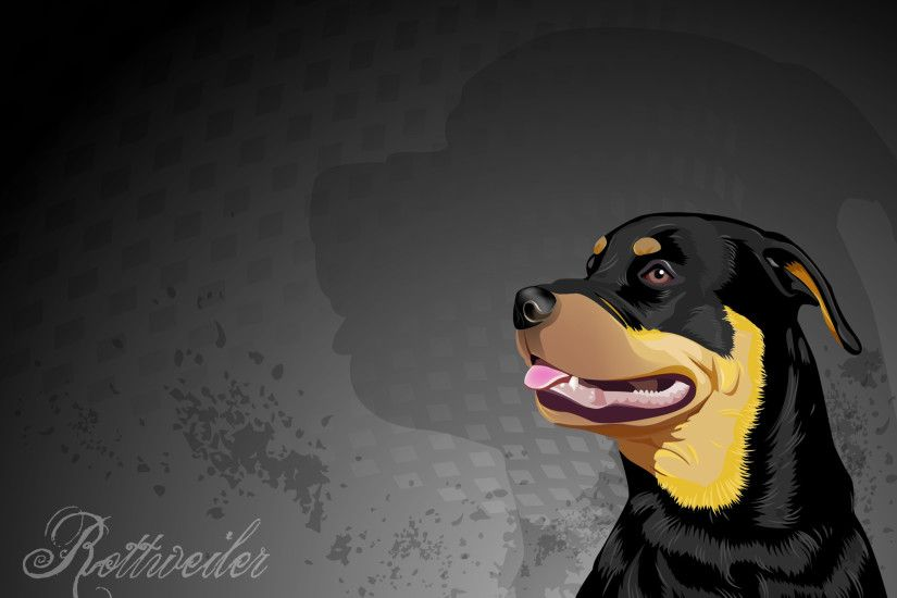 rottie wallpaper ...