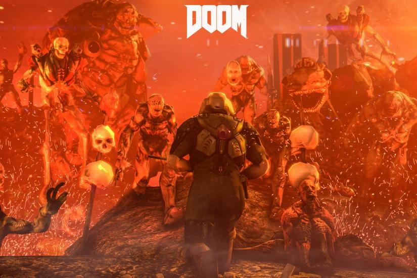 doom wallpaper 3840x2160 high resolution