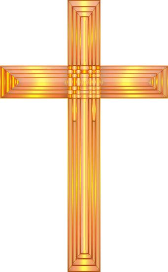 Golden Cross No Background