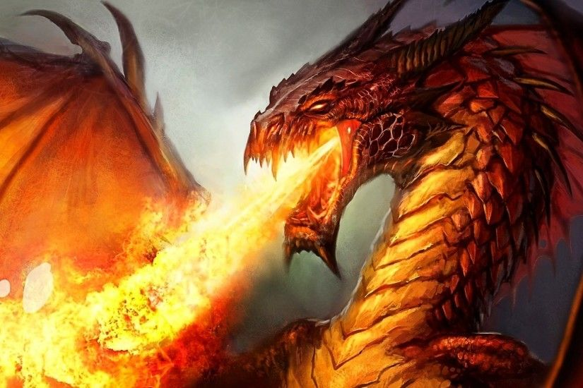 <b>Fire Dragon Wallpapers</b> - <b>Wallpaper<