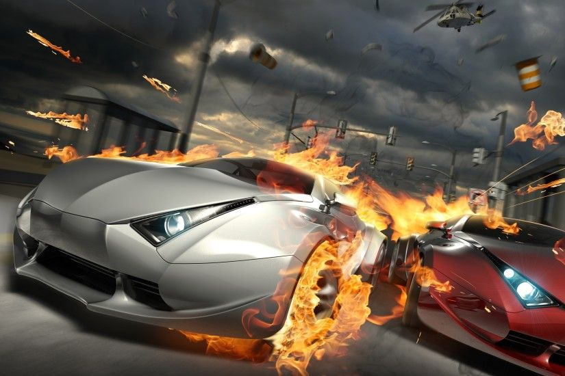 Destructive Car Race