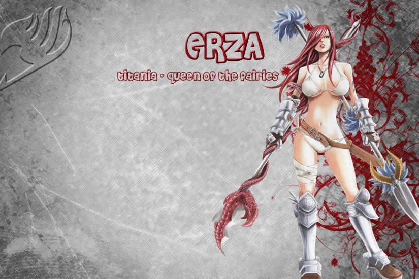 ... Erza -Fairy Tail- Wallpaper by HendrickxMatt