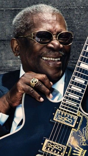 1080x1920 Wallpaper bb king, blues guitarist, singer, celebrity, king of  the blues