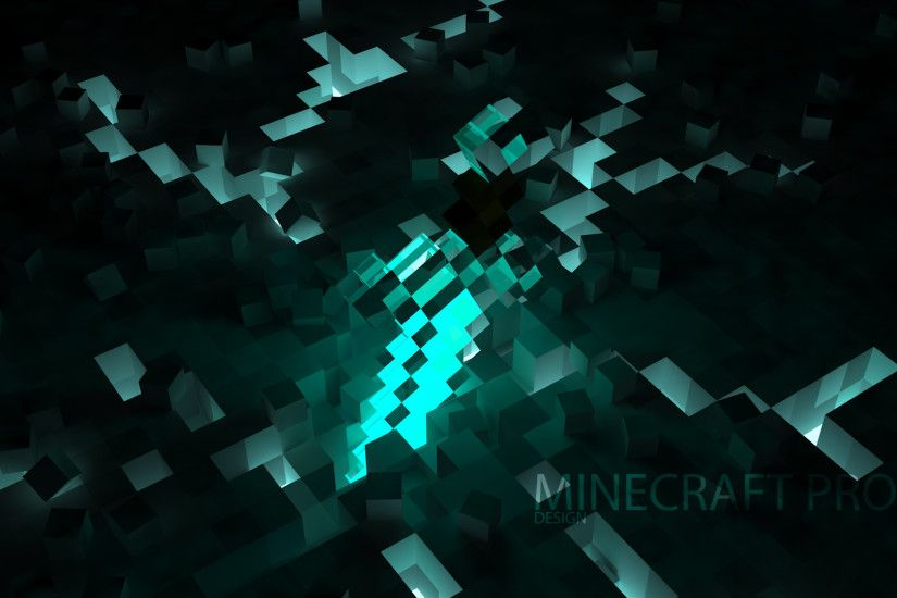 Design in the Minecraft Pro wallpaper