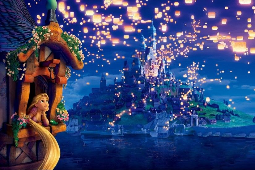 Thomas Kinkade Disney Wallpaper Tangled Thomas kinkade