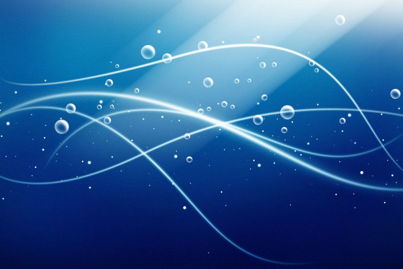 ... Blue Bubble Waves Wallpapers | HD Wallpapers ...