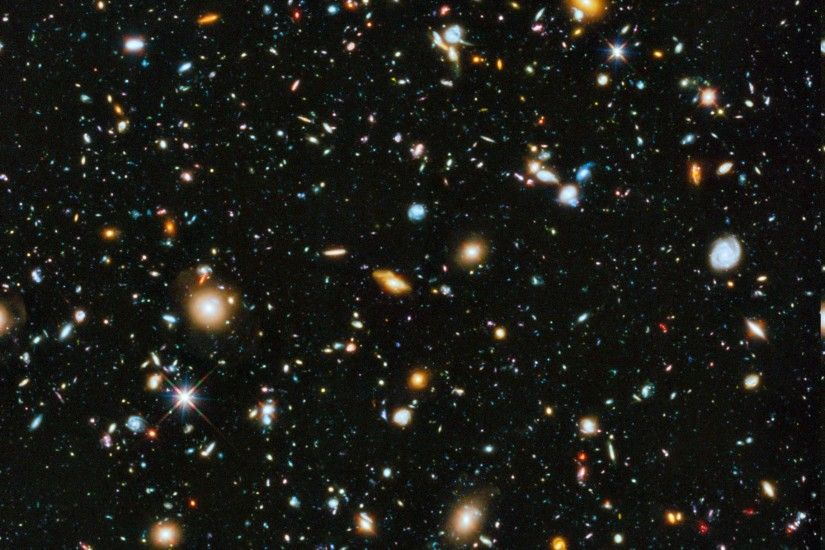 space, Stars, Galaxy, Deep Space, Hubble Deep Field Wallpapers HD / Desktop  and Mobile Backgrounds