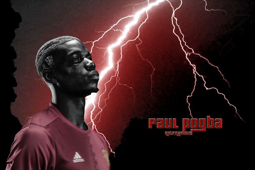 ... Paul Pogba Manchester United 2017 wallpaper by RICKram619
