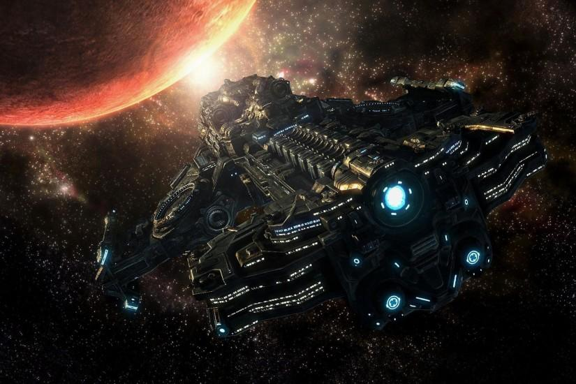 Images For > Cool Spaceship Wallpapers