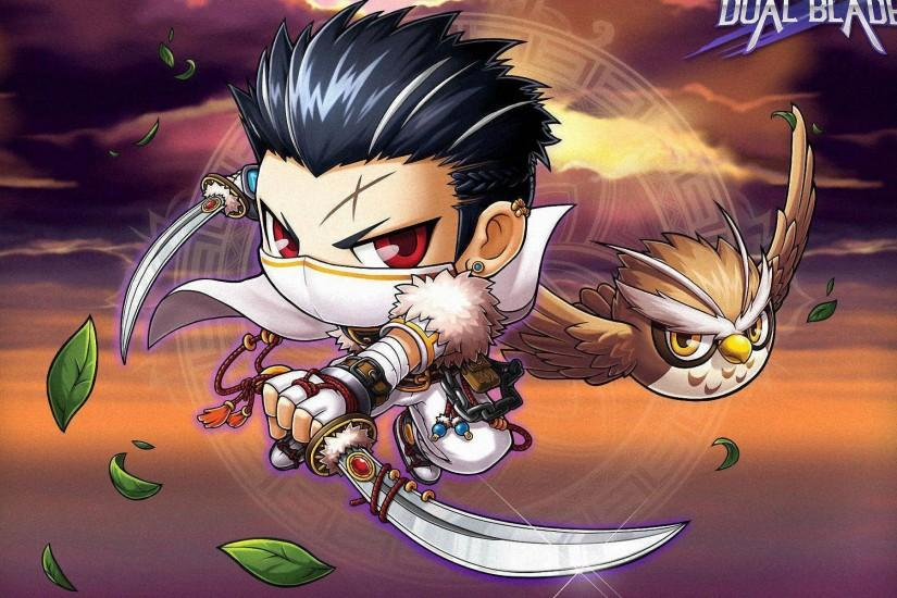 Dual Blade Wallpaper. Maplestory Dual Blade Wallpaper