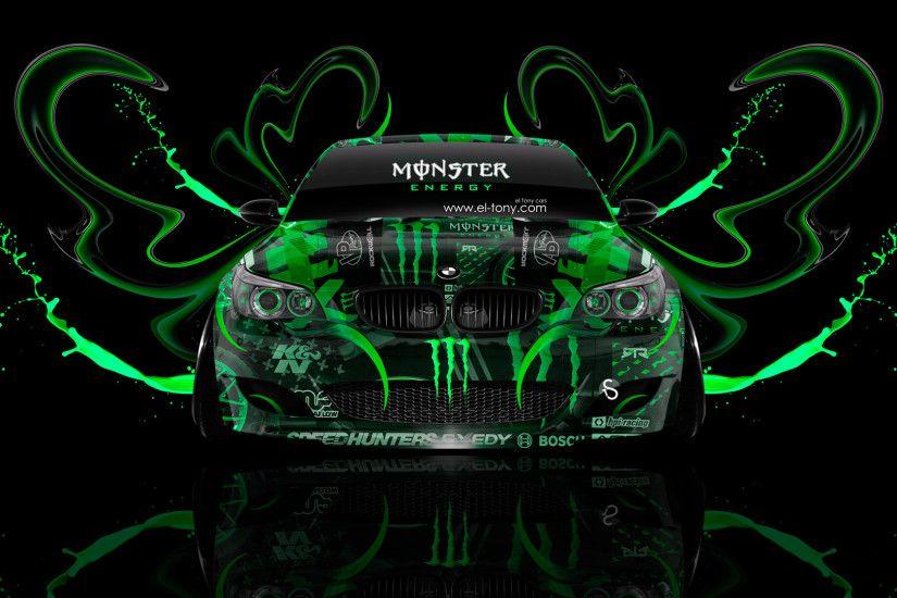 Merveilleux Monster Energy BMW M Front Plastic Acid Car