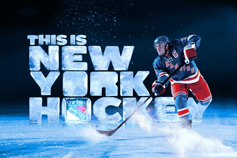 Preview wallpaper ew york rangers, hockey, ice hockey, ice 3840x2160